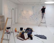 Tag 2: Der Künstler geht ans Werk.